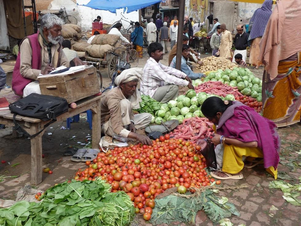 Vraja sabji market