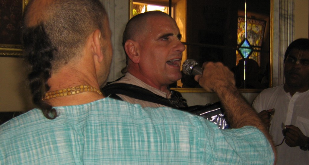 Kirtan Singer header