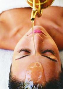 Sirodara Massage