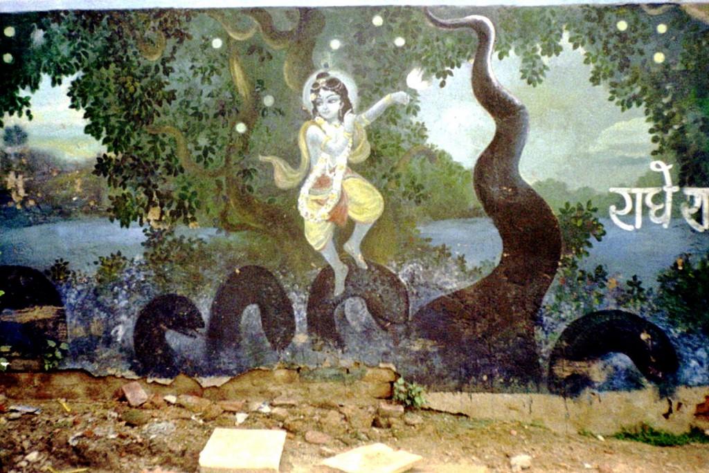 Krishna on Kaliya