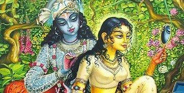 Sringar Lila / Vrindavan Art