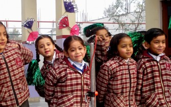 Children at Faridabad_pan