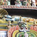 Lying Vishnu_Entrance Sri Rangam