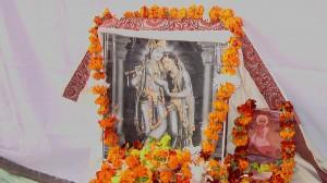 Jiva Gosvami's bhajan kutir at Radhakunda