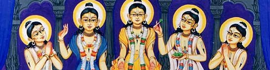 Sri Panca Tattva - 2 - The Lord in Five Features_pan
