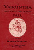 """Title page: """"In Vaikuntha not even the Leaves Fall"""""""