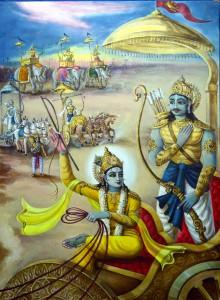 Krsna Arjuna