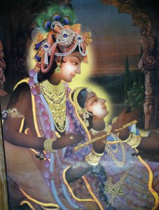 Radha Krishna, the divine youthful couple