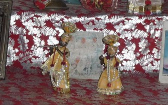 Mathura Goshala Altar_pan
