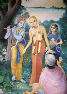 Ramananda Raya attains darsana of Sri Chaitanya