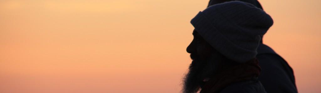 Babaji at sunset in Poland