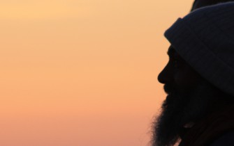 Babaji at sunset in Poland