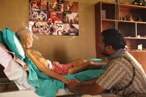 Kurma Rupa in hospital