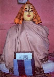 Murti of Haridasa Thakura in Bangladesh