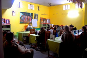 The classroom at Jiva