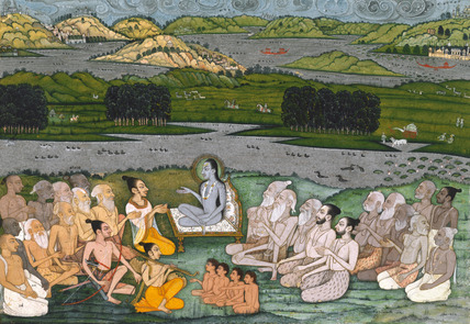 Sri Sukadeva and the sages