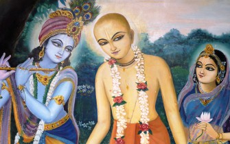 Caitanya Mahaprabhu and Ramananda Raya