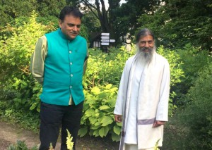 Babaji and Dr. Partap