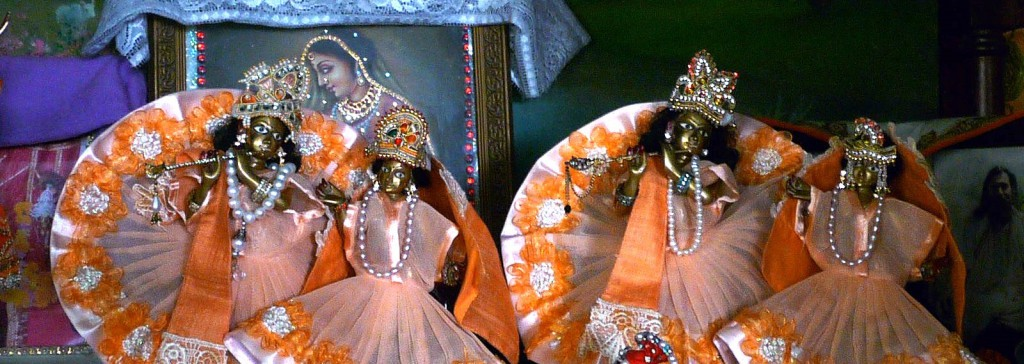 Radha Krsna at Jiva