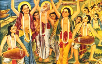 Sri Chaitanya's Sankirtana Party