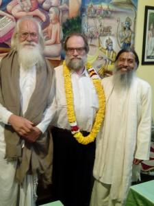 Jagadanandaji, Conradt Elst, Babaji