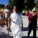 Babaji and devotees at Malaga retreat