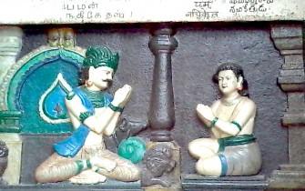 c) எஸ். பி. கிருஷ்ணமூர்த்தி - Sankara Mutt at Rameshwaram