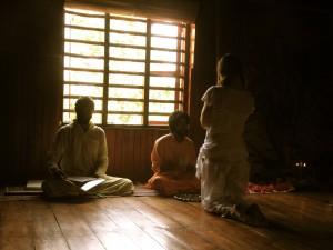 guru and lady disciple