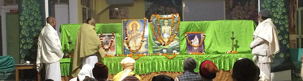 Jiva Goswami's Disappearance celebration at Jiva