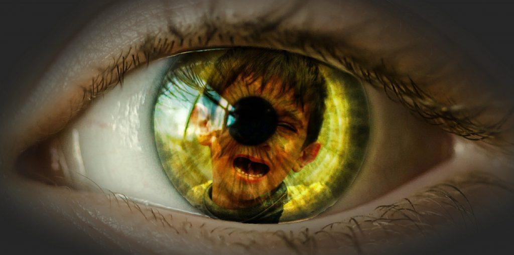 Eye, Pain, Suffering, Child