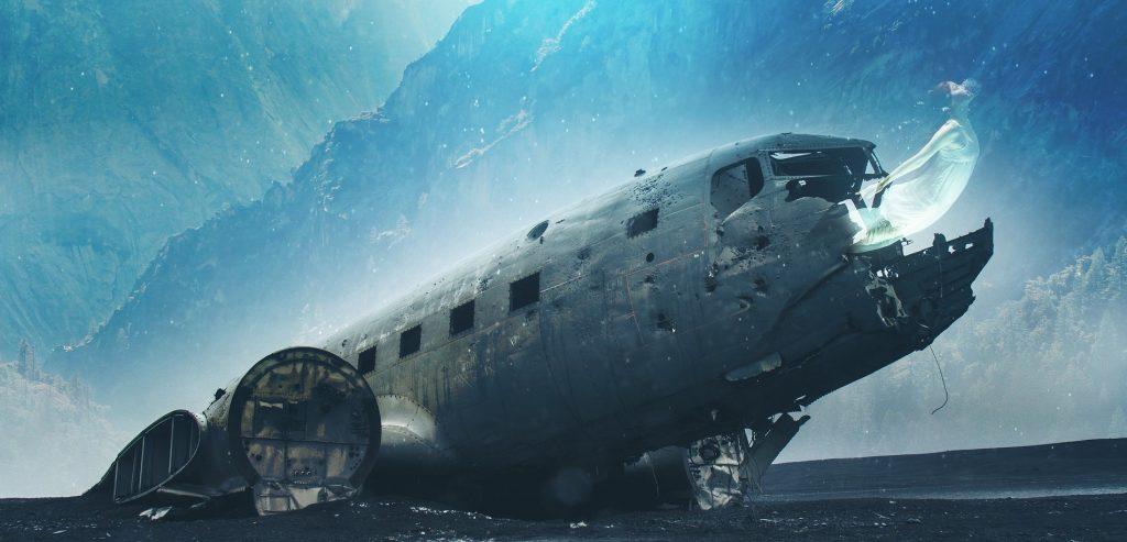 plane crash / courtesy Varun Maharaj
